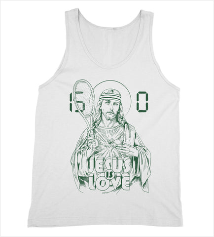 Jesus is Love 'Tennis' Tank