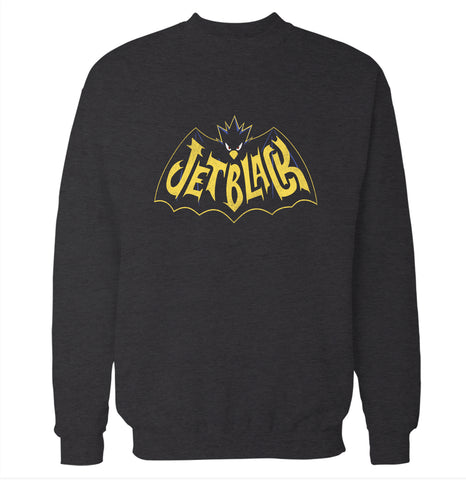 Jet Black 'My Hero Academia' Sweatshirt