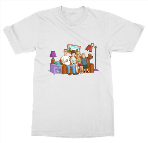 King of the Hill Couch T-Shirt