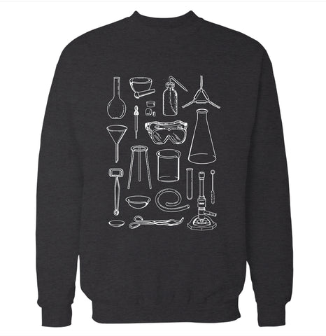 Lab Equipment Sweatshirt