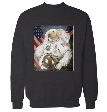 Labrador Retriever Space Explorer Sweatshirt