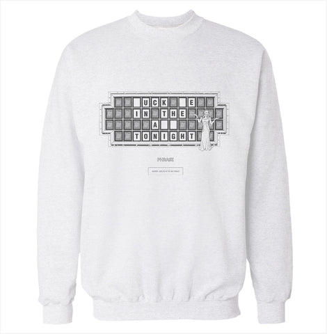 I'd Like to Buy a Vowel Sweatshirt