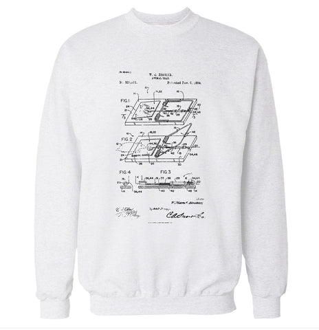 Mouse Trap Patent Sweatshirt