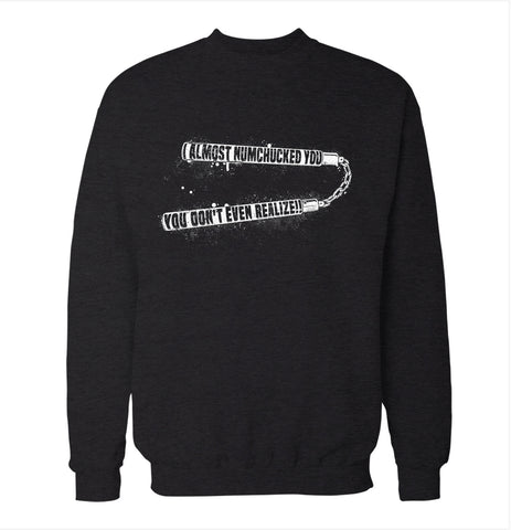 Numchucked 'Wedding Crashers' Sweatshirt