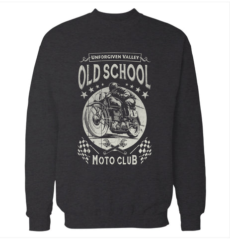 Old School Moto Club Sweatshirt