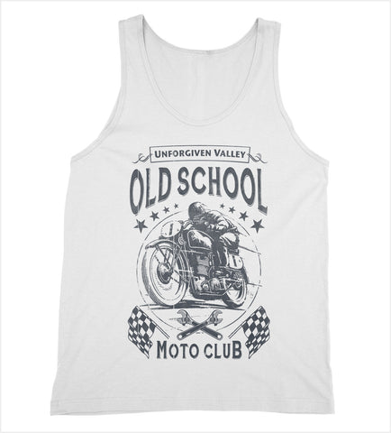 Old School Moto Club Tank