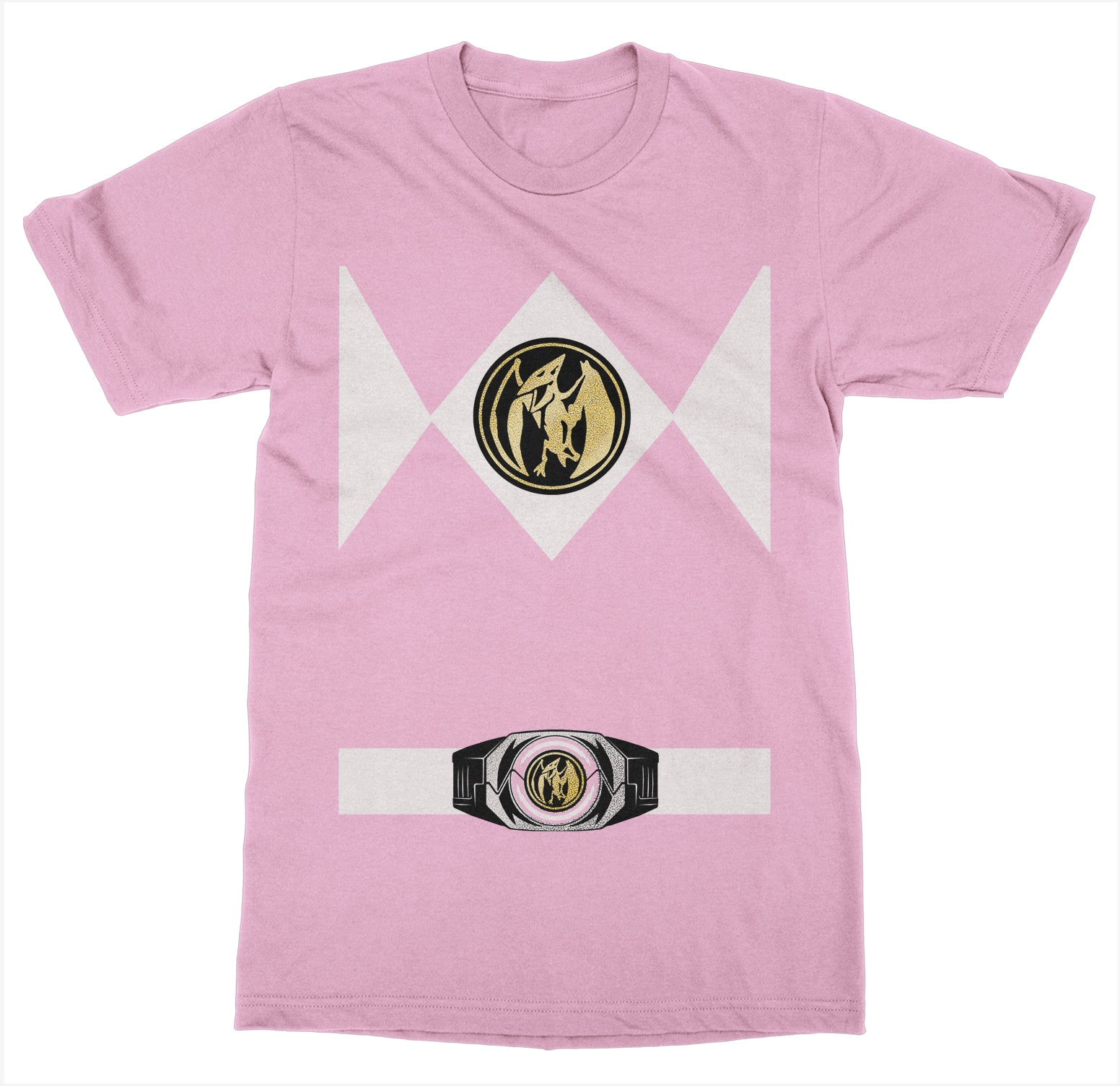 Pink Power Ranger Costume T-Shirt  sc 1 st  Fun Times Tees : pink ranger costume for adults  - Germanpascual.Com