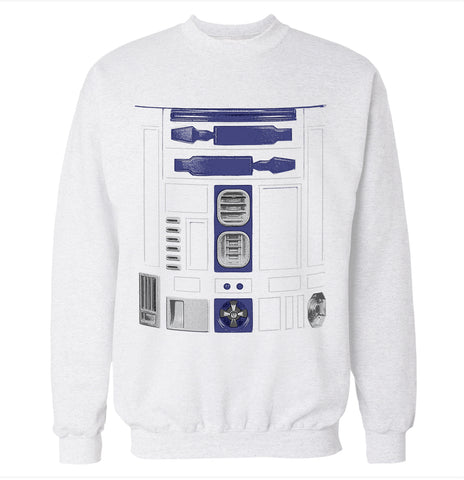R2D2 Costume Sweatshirt