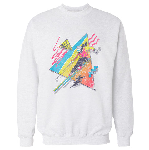 Retro Ski 'Skiing' Sweatshirt