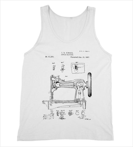 Sewing Machine Patent Tank