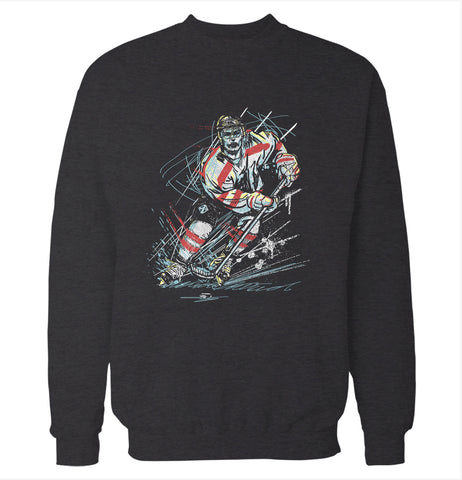 Sketchy Player 'Hockey' Sweatshirt