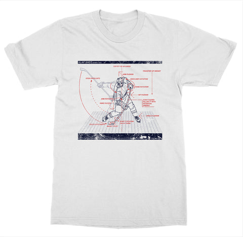 Slapshot Dissected 'Hockey' T-Shirt