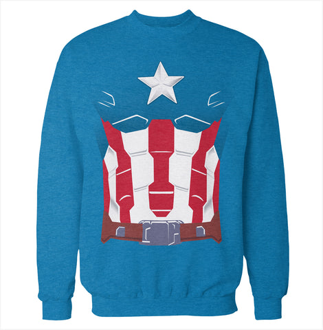Superhero Costume Sweatshirt