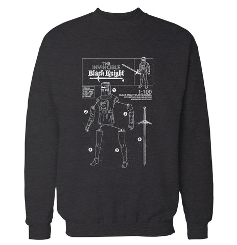 The Invincible Black Knight 'Monty Python' Sweatshirt