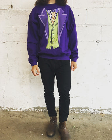 The Joker Costume Sweatshirt