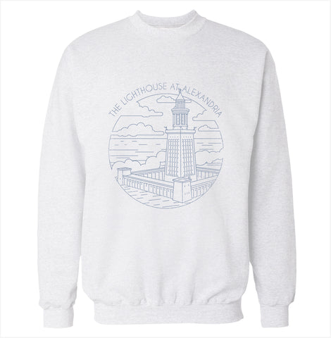Lighthouse at Alexandria Sweatshirt