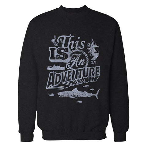 This is an Adventure 'The Life Aquatic' Sweatshirt
