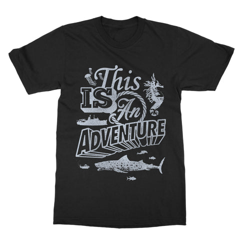 This is an Adventure 'The Life Aquatic' T-Shirt