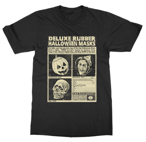 Three Halloween Masks 'Halloween III' T-Shirt