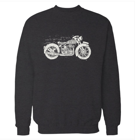 Vintage Motorcycle Club Sweatshirt