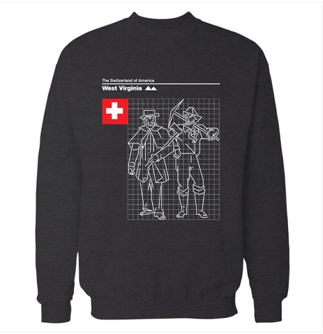 West Virginia 'Switzerland of America' Sweatshirt