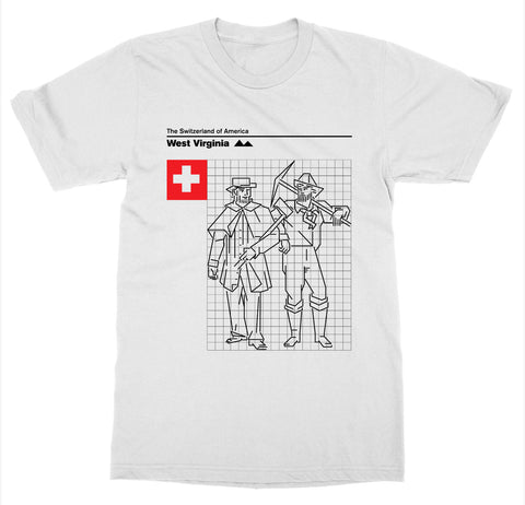West Virginia 'Switzerland of America' T-Shirt