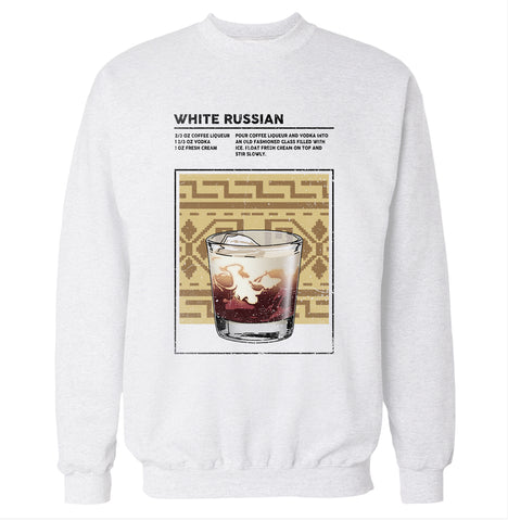 White Russian Sweatshirt