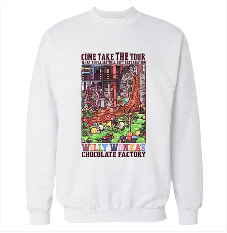 Willy Wonka's Chocolate Factory Sweatshirt
