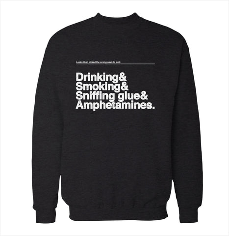 Wrong Weekend 'Airplane' Sweatshirt