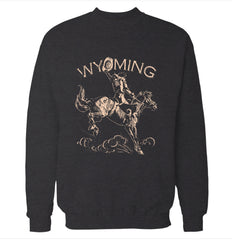 Wyoming 'Cowboy' Sweatshirt