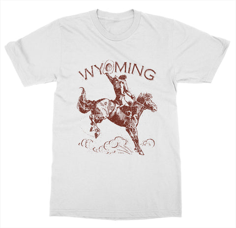 Wyoming 'Cowboy' T-Shirt