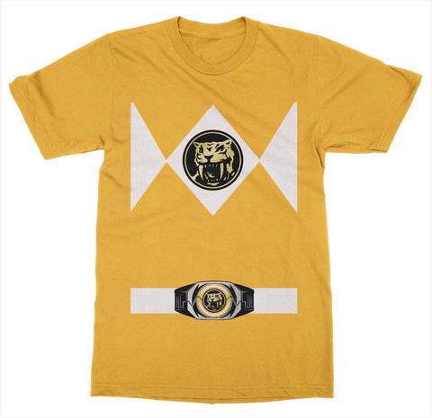 Yellow Power Ranger Costume T-Shirt