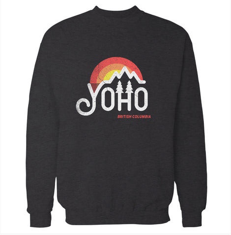 Yoho, British Columbia Sweatshirt