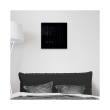 Load image into Gallery viewer, QLOCKTWO CLASSIC ACRYLIC CLOCK - BLACK ICE TEA