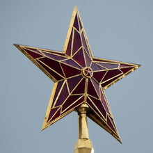 Load image into Gallery viewer, Kremlin Ruby Red Star original USSR Poster from 1970' Zenith and Top power symbol