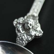 Load image into Gallery viewer, Antique 19thC HANAU sterling silver large anointing spoon