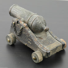 Load image into Gallery viewer, Vintage model Antique cannon statue 269.7 g Canon Marina Espanola Siglo XVI gift