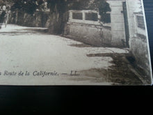 Antique France postcard 122 Cannes La Route de la Californie LL Carte Postale