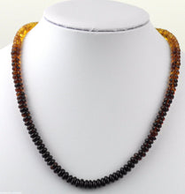 Load image into Gallery viewer, Genuine Baltic Amber beads necklace Honey red blood cognac