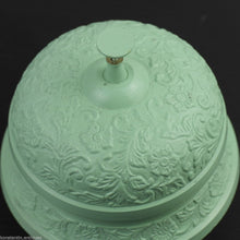 Load image into Gallery viewer, Vintage style cast iron reception desk ornamented top bell