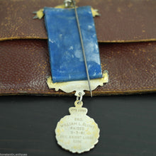 Vintage 1959 solid silver Medal Justice Truth Philanthropy Eric Knight Lodge