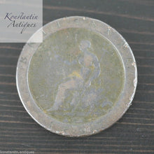 Load image into Gallery viewer, Antique 1797 George III Cartwheel Penny coin 18thC British Empire