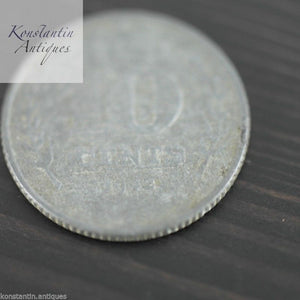 Vintage 1942 coin 10 cents Netherland great old gift