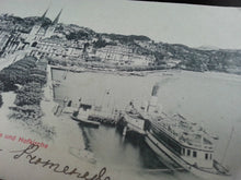 Antique Swiss postcard Zurich 664 edition Photoglob Luzern Promenade Hofkirche