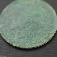 Load image into Gallery viewer, Vintage 1919 coin One penny George V Great Britain Bronze with patina nice gift