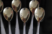 Load image into Gallery viewer, Antique gold plated solid silver set of twelve spoons WMF German