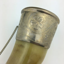 Vintage Caucasian Drinking Horn Cup for Wine Vodka Cognac