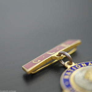 Enamel Medal *RAOB* GLE NATIONAL CONVALESCENT FUND great gift