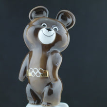 Load image into Gallery viewer, Vintage Moscow 1980 Olympic Games symbol Bear Mascot USSR Dulevo porcelain gift