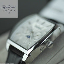 Load image into Gallery viewer, TimePiece Swiss Quartz wrist watch with leather strap and white dial